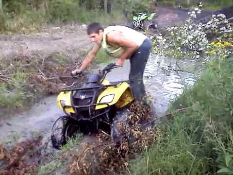Suzuki Ozark vs. Mud