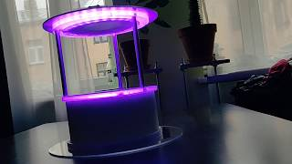 Wireless dmx controllable desk lamp - update 4