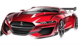 Mustang Designer Tells Us About This GT500 Sketch Becoming Reality
