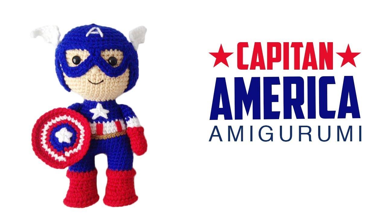 Captain America Bunny Amigurumi PDF Pattern /Captain America Hero ... | 720x1280