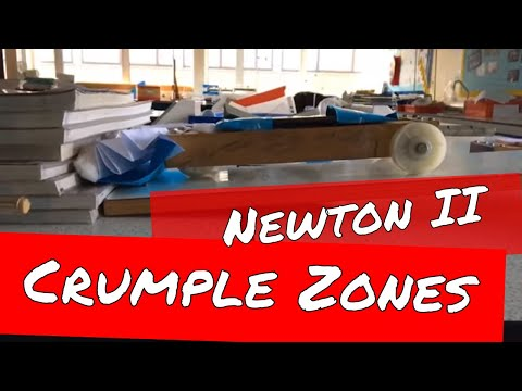 Crumple Zones and Car Safety Features - GCSE and A Level Physics Revision