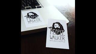 The People Walker aka Chuck McCarthy - Creating a positive life thru walking