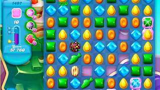 Candy Crush Soda Saga Level 1497 - NO BOOSTERS ***