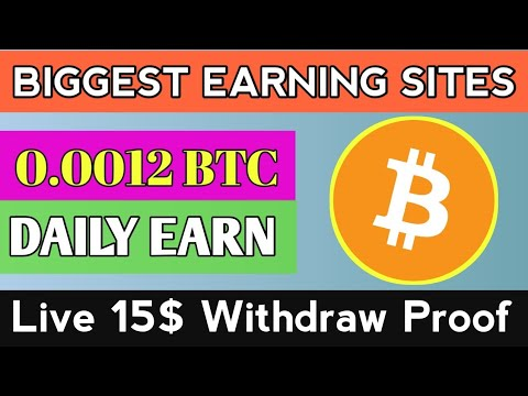 15$ Withdraw Proof | New Bitcoin Mining Website 2020 | Free Earning Sites 2020 | Long Term BTC Sites