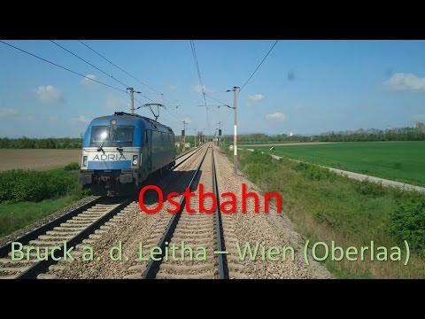 Führerstandsmitfahrt | Cab Ride | Ostbahn Bruck a. d. Leitha - Wien (Oberlaa) | Austria [4K] Vectron