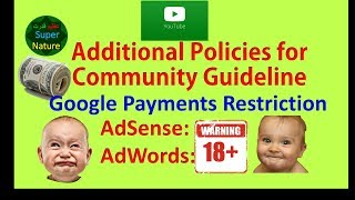 Additional policies Google payment requirements for AdSense AdWords  Azeem Qudrat
