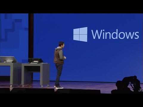 Microsoft Build 2017 keynote in 8 minutes