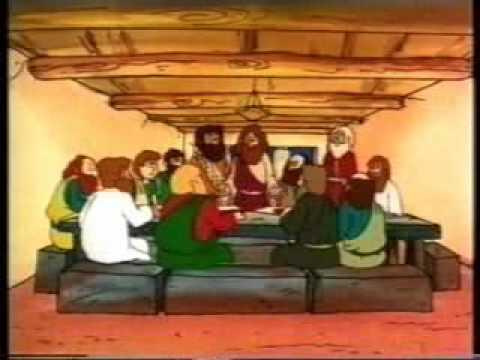 قيامة الملك المسيح كارتون للأطفال