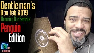Gentleman's Box February 2019 👔 : LGTV Review