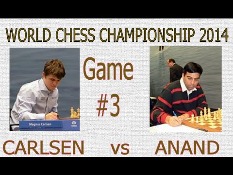 World Chess Championship 2014 : Game 3: - Kingscrusher and Friends Youtube Livestream