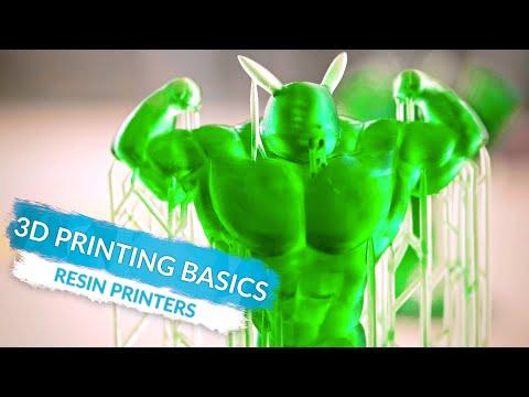 3D Printing Basics: Resin Printers! (Ep3)