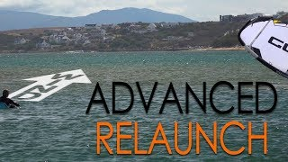 Relaunch Part II, Advanced (kiteboard tutorial)