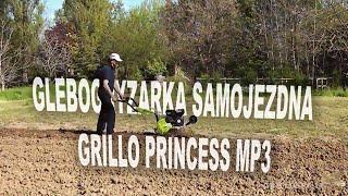 Glebogryzarka samojezdna GRILLO Princess MP3 (5,5 KM Kohler Lombardini)