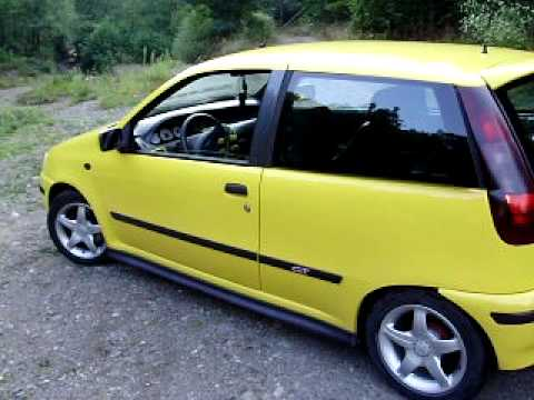 fiat punto 1 2 sporting 16v part 1 youtube. Black Bedroom Furniture Sets. Home Design Ideas