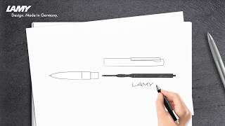 Changing Refills Twist Ballpoint Pens LAMY studio, LAMY aion and LAMY scala