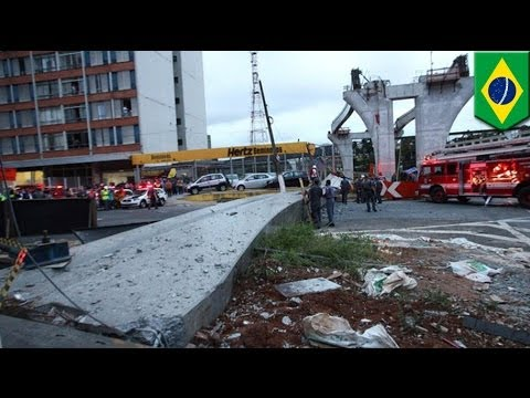 Brazil World Cup 2014: Worker killed at Sao Paulo monorail construction site