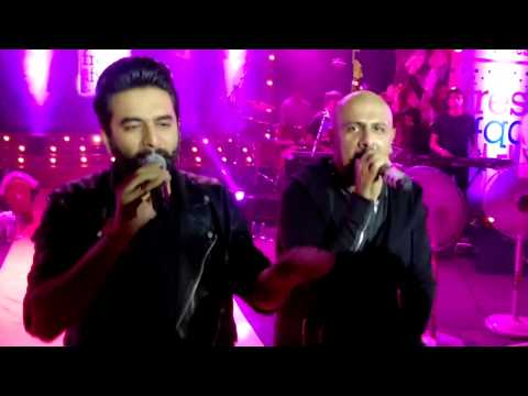 Nashe Si Chadh Gayi, Vishal and Shekhar Live at Times Fresh Face, Bandra Fort, 9 March, 2017