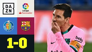 Rückschlag vor Clasico - Barca blamiert sich bei Getafe: Getafe - FC Barcelona 1:0 | LaLiga | DAZN