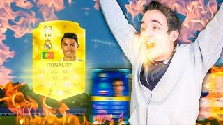 OMFG I PACKED RONALDO & MY FIRST TOTS!!! - FIFA 16 PACK OPENING