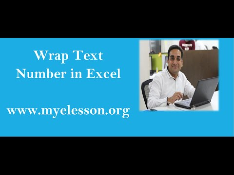 Learn Excel : Wrap Text in Excel
