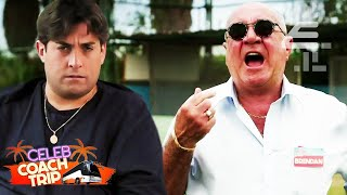 Towie's Arg Has BEEF with Coach Trip's Brendan?!   Celebrity Coach Trip  Celebrity Coach Trip