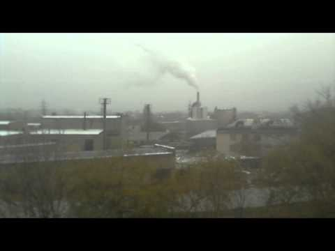 Depressing Winter day in Tashkent