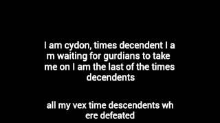 I am cydon, times decendent
