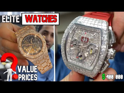ELITES WATCHES PRICES/VALUE  And YOU : Richard Mille , Audemars Piguet , Rolex , Patek Philippe