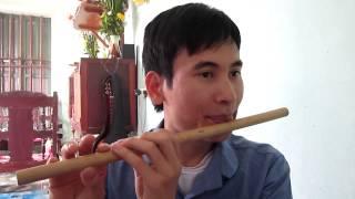Bài Hương tóc mạ non- hướng dẫn thổi sáo trúc Cao Trí Minh