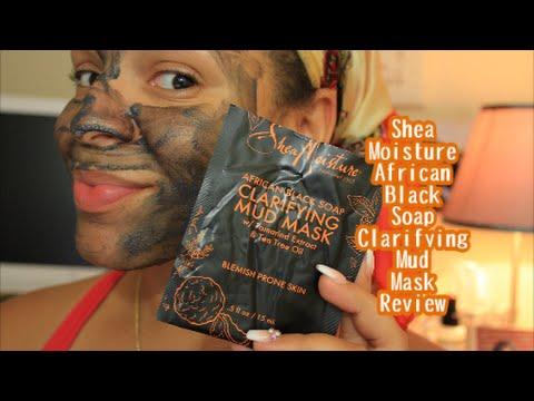 Shea Moisture African Black Soap Clarifying Mask Review