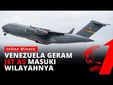 Venezuela Tuduh AS Langgar Wilayah Udaranya | tvOne Minute