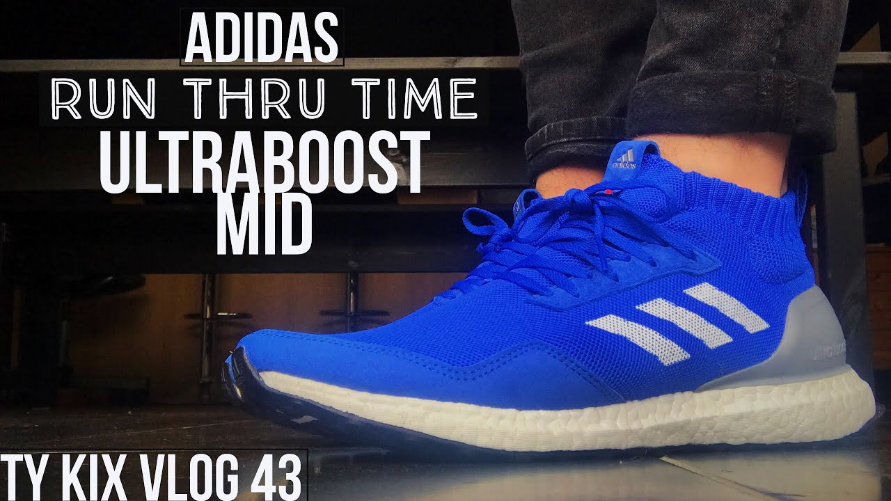 purchase cheap 0abd9 9d3ea ADIDAS ULTRA BOOST MID RUN THRU TIME UNBOXING  REVIEW + 5 Instagrams to  follow