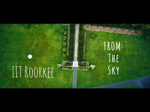Aerial view of IIT Roorkee