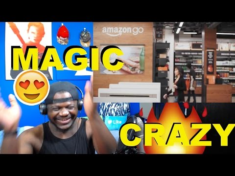 Introducing Amazon Go and the world's most advanced shopping technology REACTION