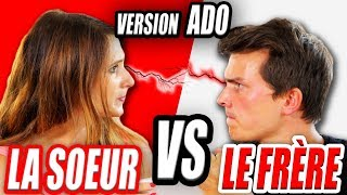 LE FRÈRE VS LA SOEUR 2 : VERSION ADOLESCENT - ANGIE LA CRAZY SÉRIE - ANGIE  MAMAN 2.0