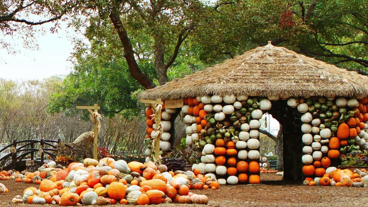 The Four Seasons at the Dallas Arboretum - YouTube