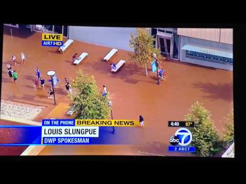 UCLA flooded, ABC 7 gets pranked!!