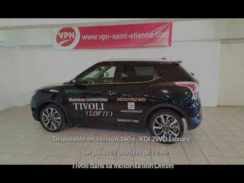 ssangyong tivoli 160 e xdi 2wd luxury vendre saint etienne chez vpn autos youtube. Black Bedroom Furniture Sets. Home Design Ideas