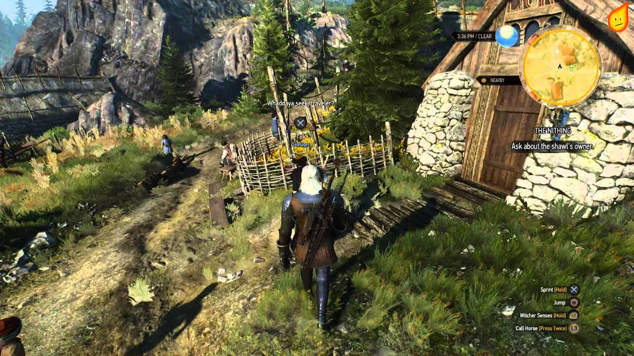 The Witcher 3 The Nithing Quest Walkthrough Youtube