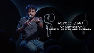Depression, Mental Health and Therapy | Stand up Comedy by Neville Shah | Going Downhill