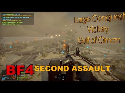 Battlefield 4: Large Conquest on Gulf of Oman SECOND ASSAULT (PC, Ultra, 1080p) GTX 680