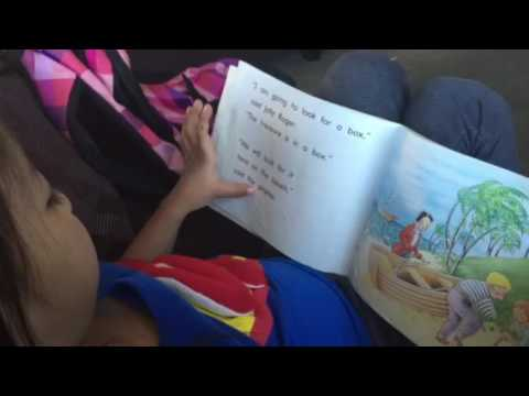 Padma the 5 year Old Reader