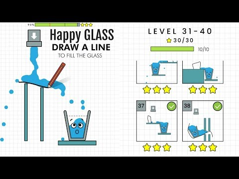 Happy Glass Level 31 to 40