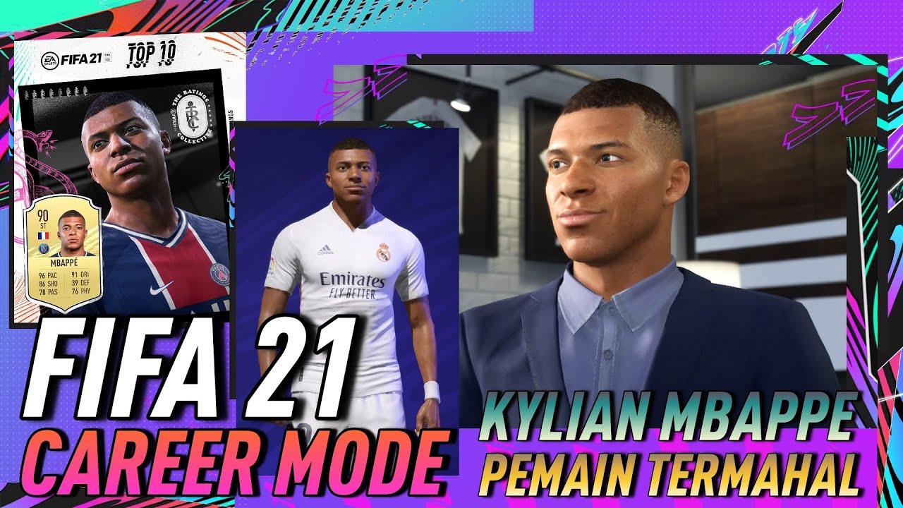 Negosiasi Transfer Kylian Mbappé, Pemain Termahal Di FIFA 21 Career Mode
