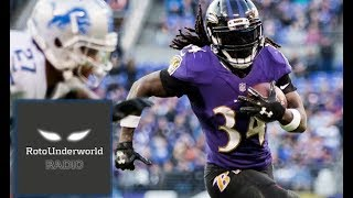 How identify players to avoid in fantasy football drafts like Alex Collins & David Johnson