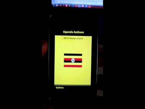 Oh Uganda - National anthem mlearning app