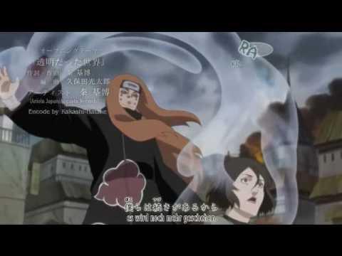 Naruto Shippuuden Opening 7 - HD - German & Japanese Lyrics
