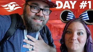 Disney Cruise Day #1 :: Ship Tour, Rapunzel's Royal Table and MORE :: Disney Magic to the Bahamas