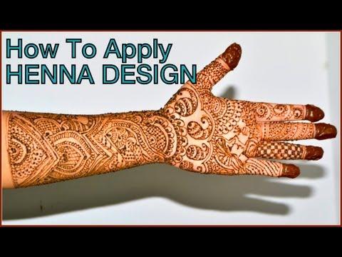 How to Make Henna Mehendi designs Eid Henna design new henna designs
