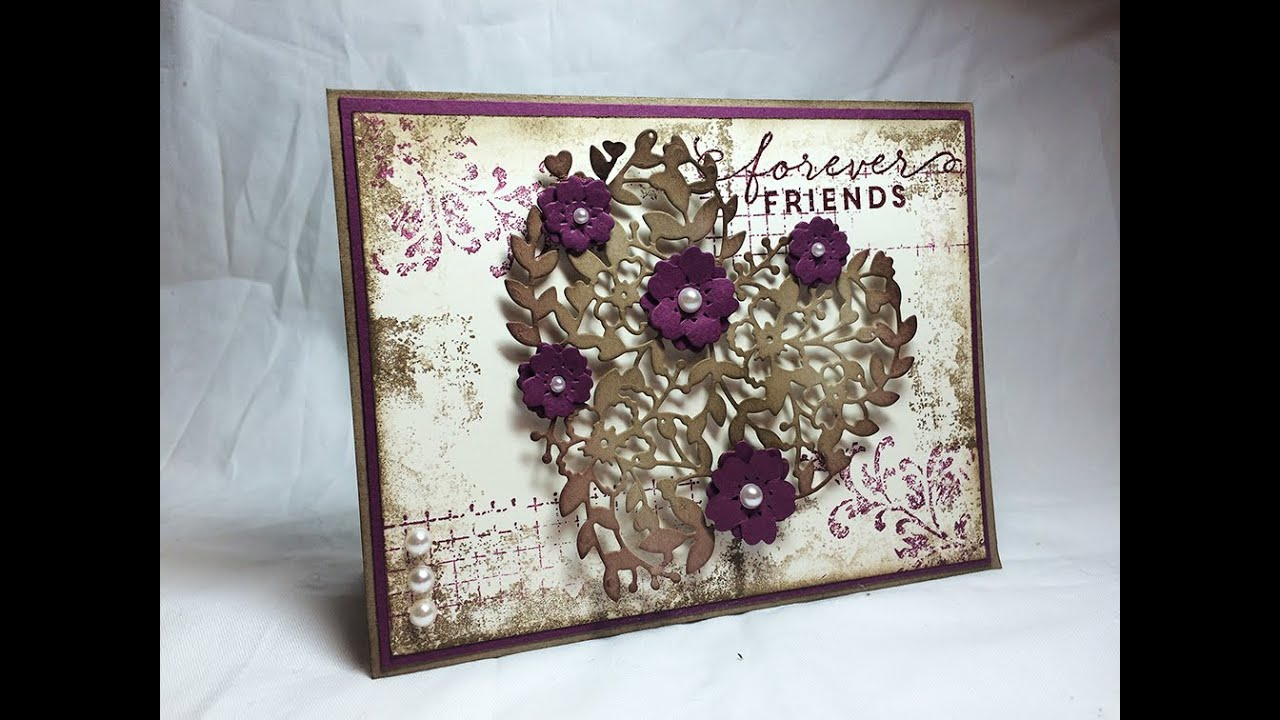 Stampin Up Timeless Textures And A Bloomin Heart YouTube